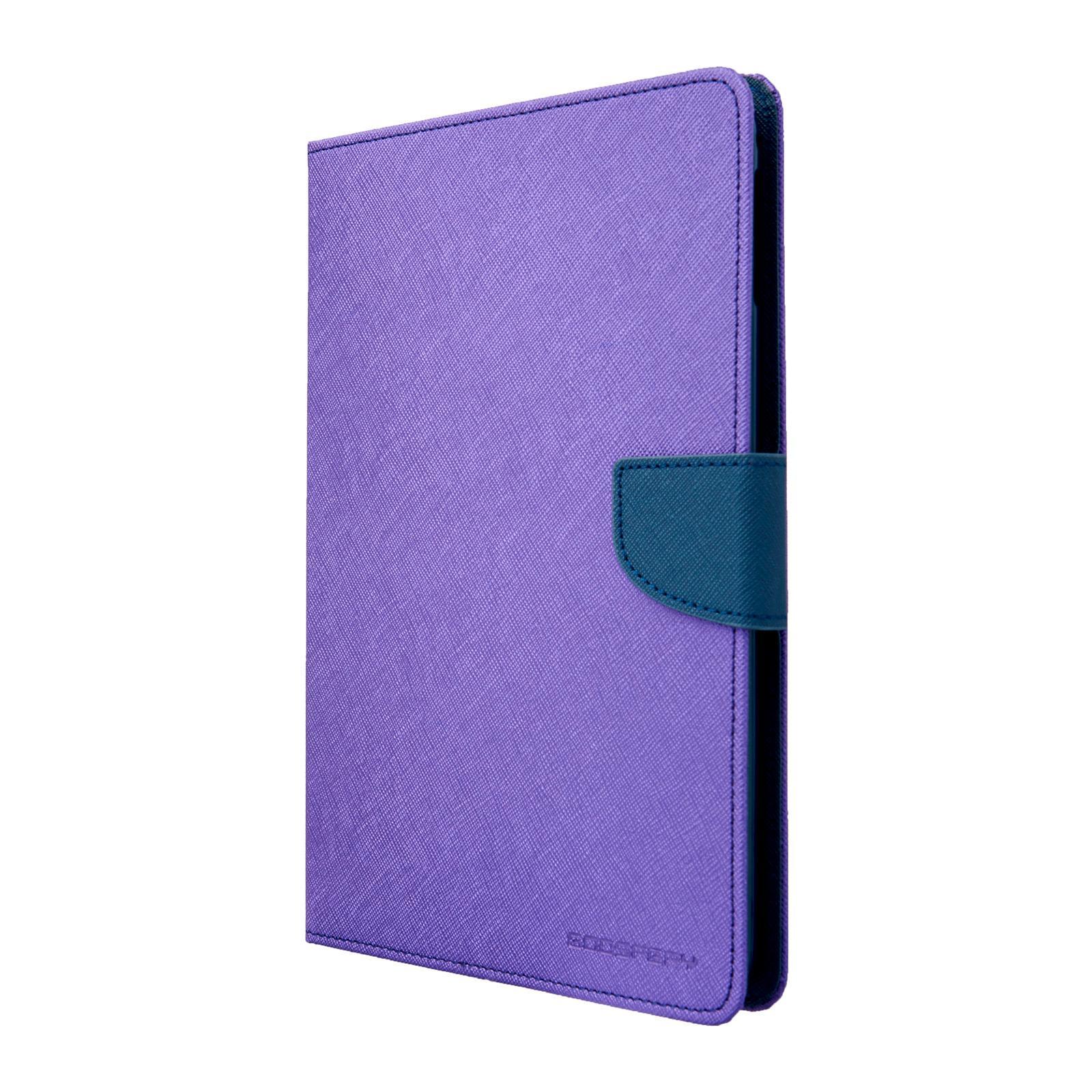 Pouzdro / kryt pro Apple iPad mini 4 - Mercury, Fancy Diary Purple/Navy
