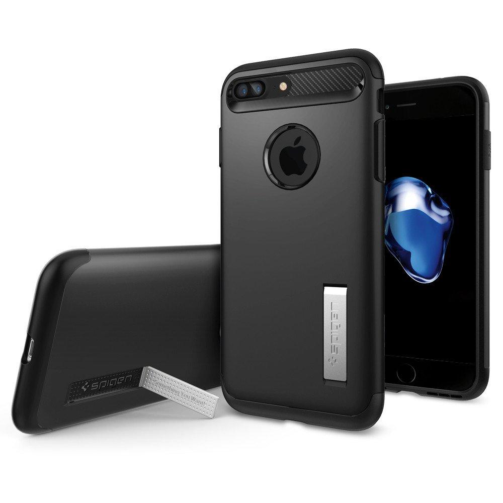 Pouzdro / kryt pro Apple iPhone 7 PLUS - Spigen, Slim Armor Black