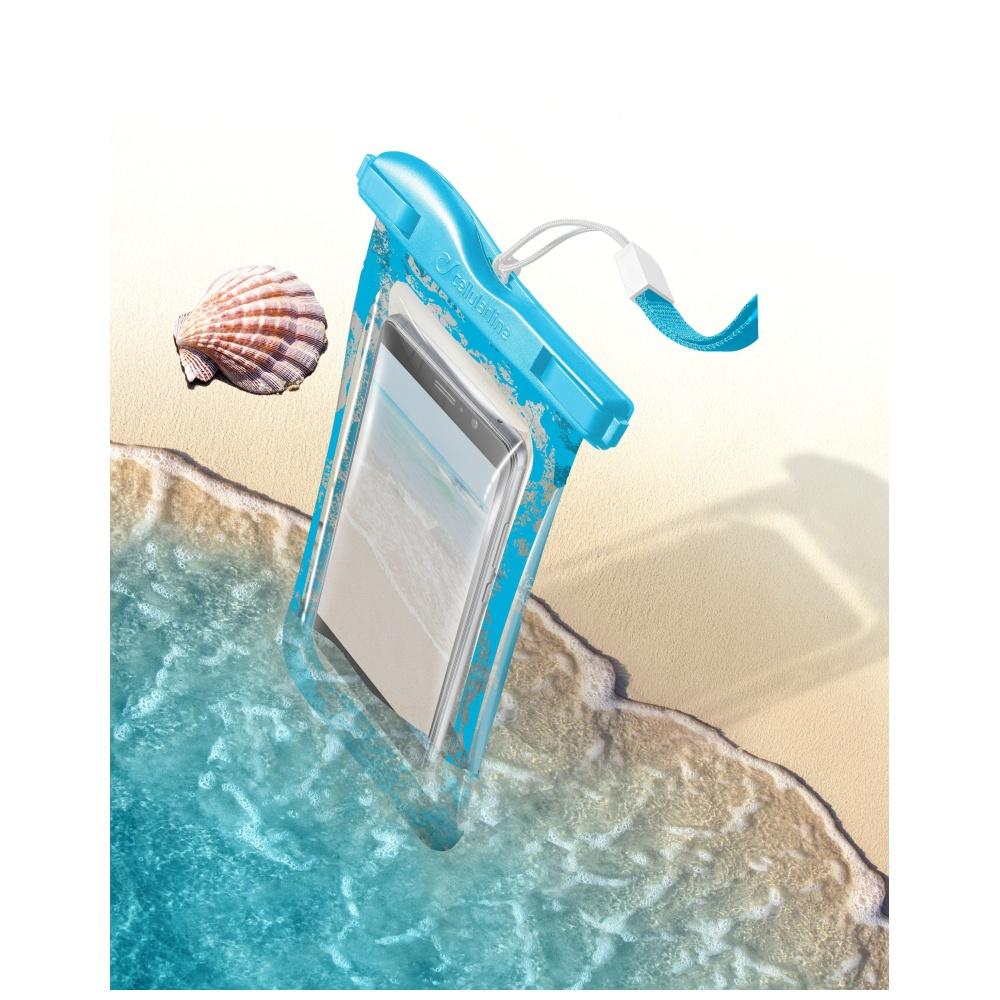 Voděodolné pouzdro pro iPhone - Cellularline, VOYAGER Blue