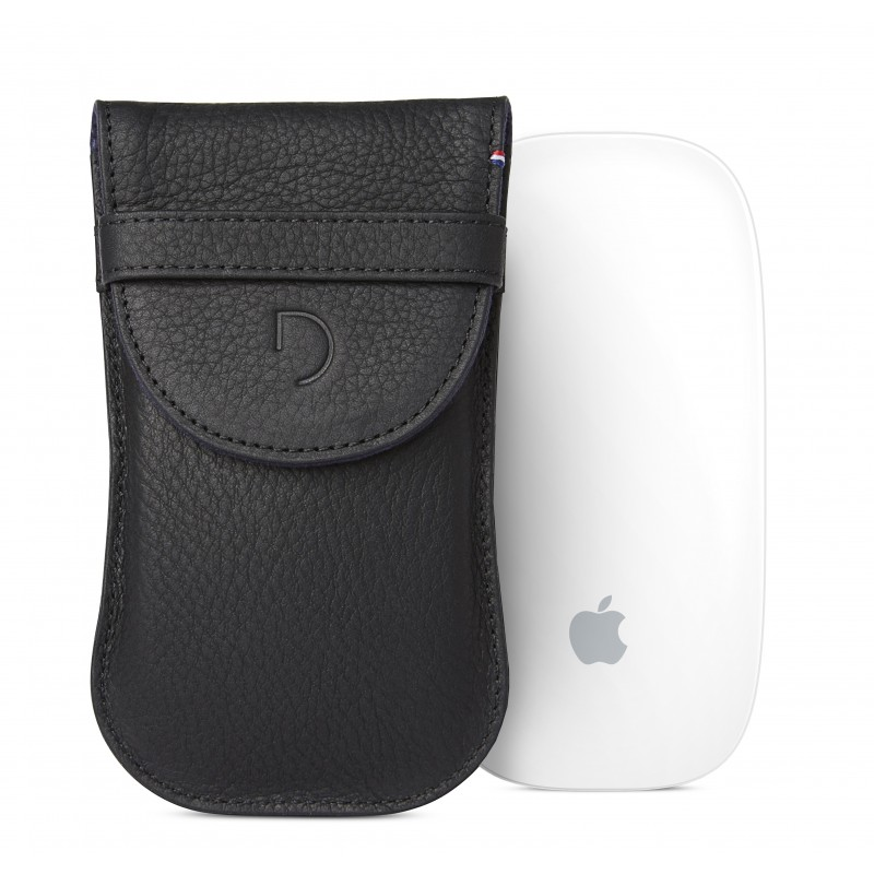 Pouzdro pro Apple Magic Mouse - Decoded, Leather Pouch Black