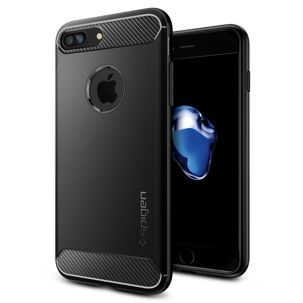 Pouzdro / kryt pro Apple iPhone 7 PLUS / 8 PLUS - Spigen, Rugged Armor Black