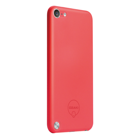 Pouzdro / kryt pro Apple iPod touch 5 - Ozaki, O!coat Solid Red