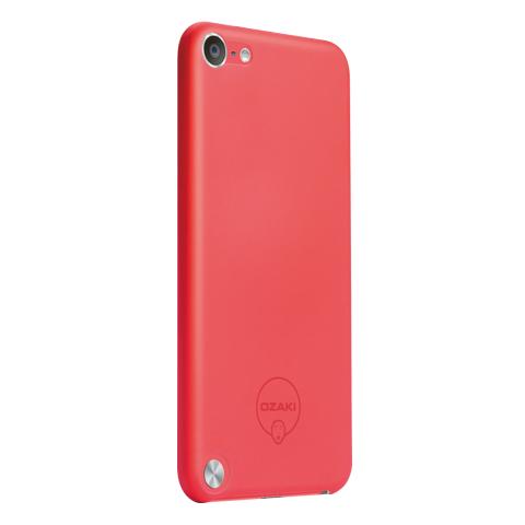 Pouzdro / kryt pro Apple iPod touch 5 - Ozaki, O!coat Solid Red