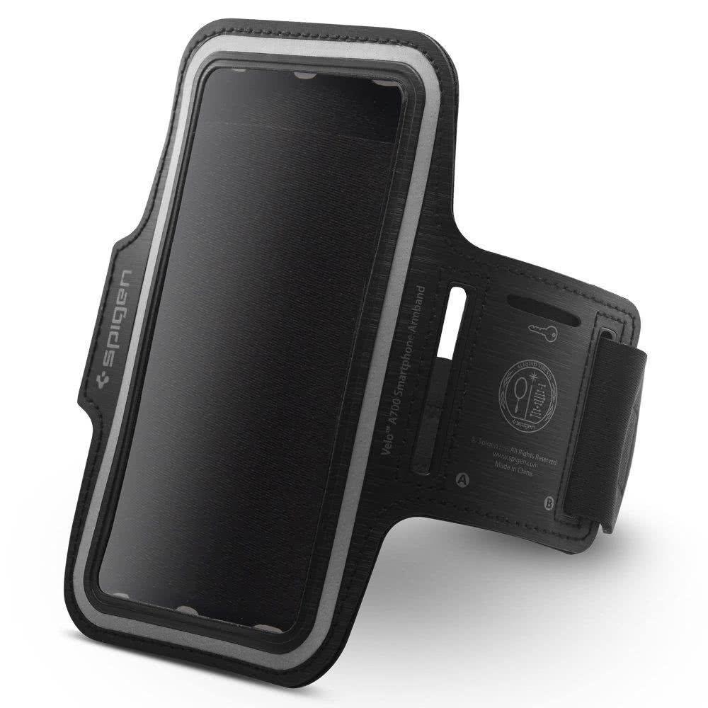 Sportovní pouzdro na ruku pro iPhone 5 / 5S / 5C / SE / 6 / 6S / 7 / 8 / X - Spigen, Velo A701