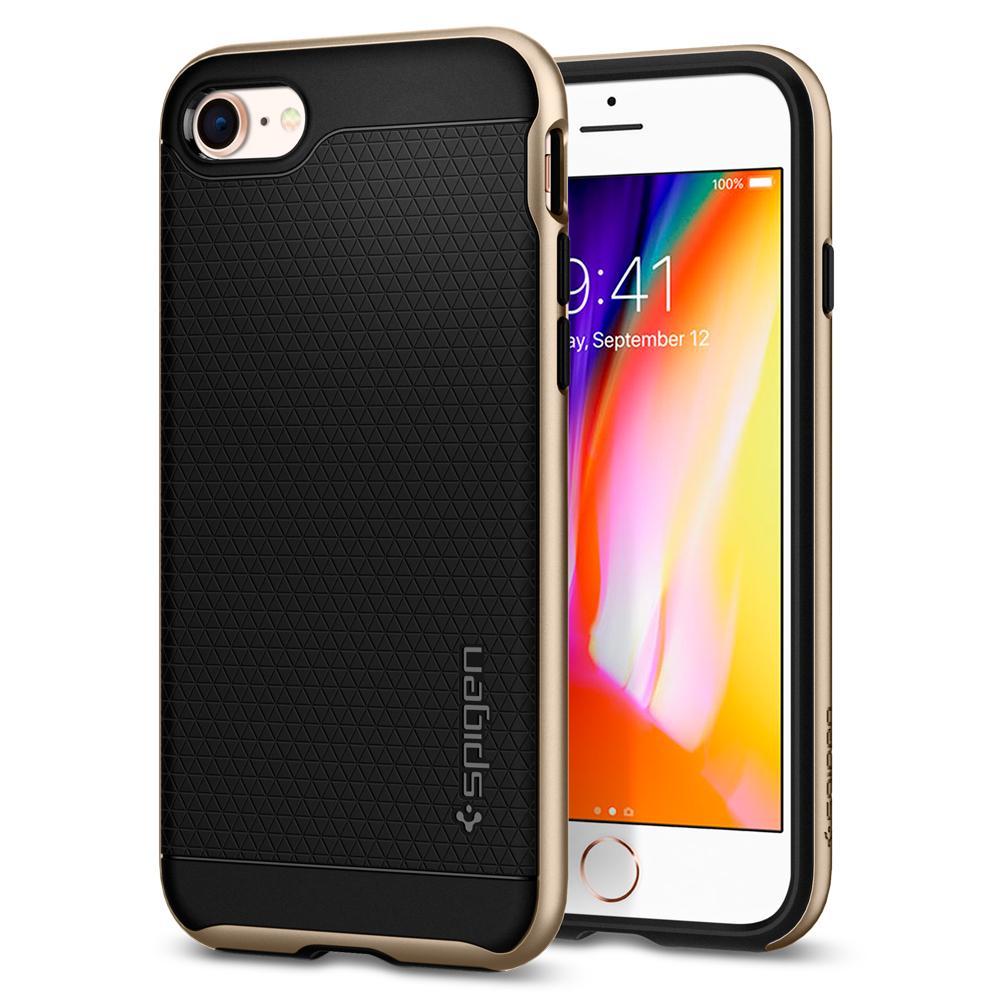 Ochranný kryt pro iPhone 7 / 8 - Spigen, Neo Hybrid 2 Gold