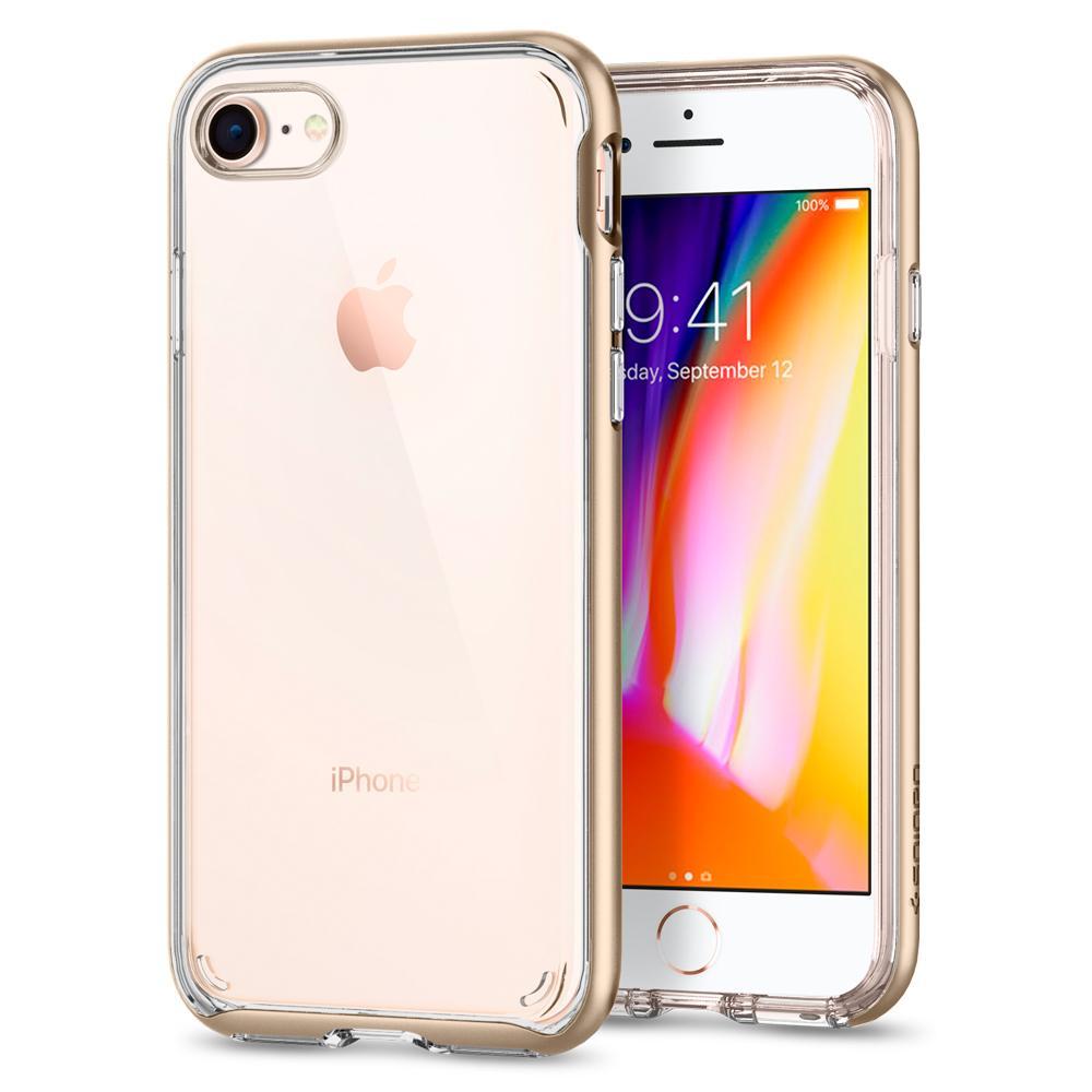 Ochranný kryt pro iPhone 7 / 8 - Spigen, Neo Hybrid Crystal 2 Gold