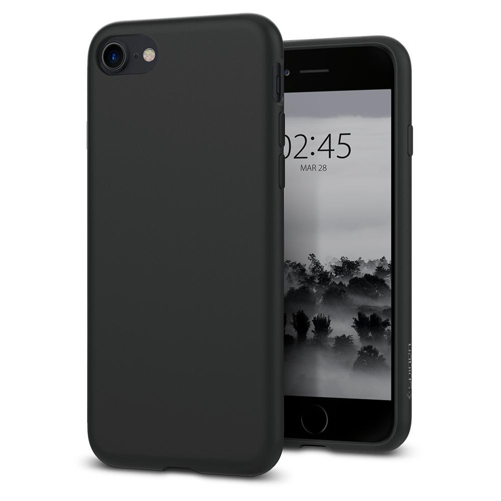 Ochranný kryt pro iPhone 7 PLUS / 8 PLUS - Spigen, Liquid Crystal Black