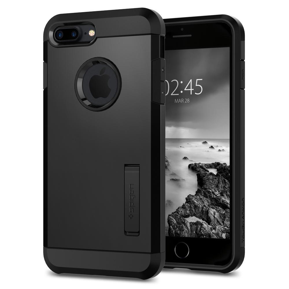 Ochranný kryt pro iPhone 7 PLUS / 8 PLUS - Spigen, Tough Armor 2 Black