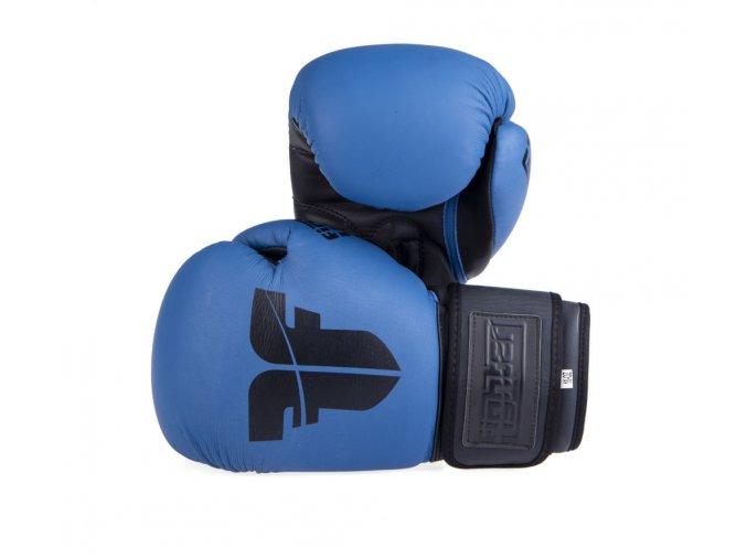 Boxerské rukavice Fighter SIAM modrá