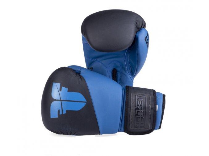 Boxerské rukavice Fighter SPLIT Black Blue