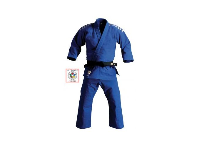 ADIDAS KIMONO JUDO CHAMPION II 2015 REGULAR IJF Blue (Barva Modrá, Velikost 160)