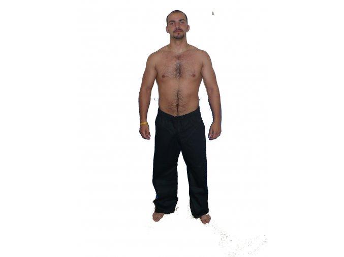 Ippon kalhoty Judo Black (Velikost 120, Barva ČERNÁ)