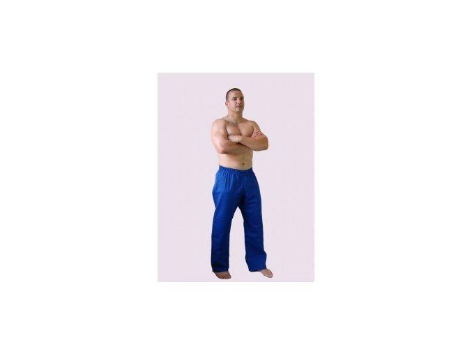 Ippon kalhoty Judo- šňůrka v pase (Barva Modrá, Velikost 120)
