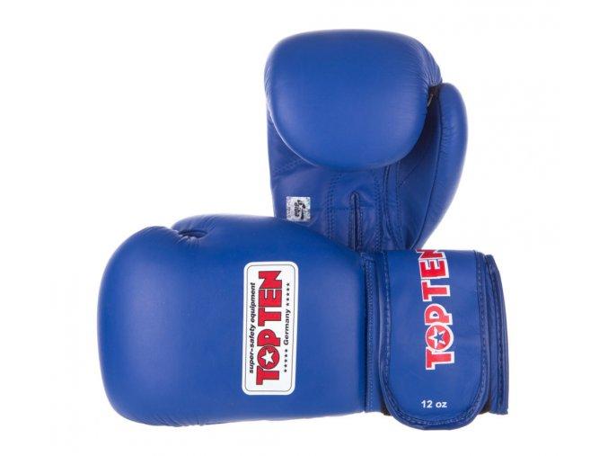 Boxerské rukavice Top Ten AIBA BLue