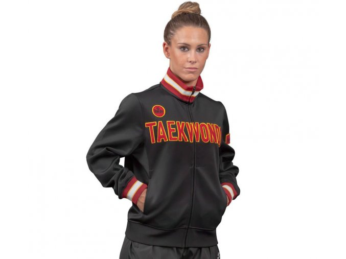 mikina daedo taekwondo slim black