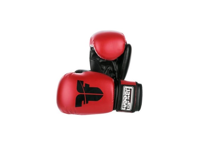 BOXERSKÉ RUKAVICE FIGHTER BASIC Red (Barva ČERVENÁ, Velikost 8oz)