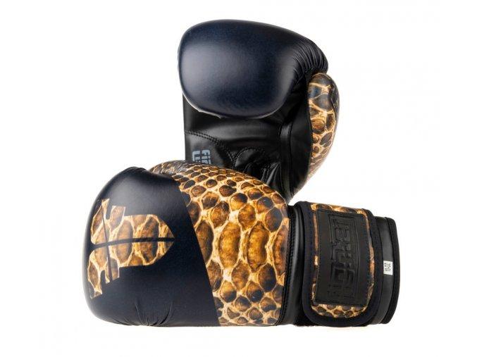 Boxerské rukavice Fighter Jungle Series snake