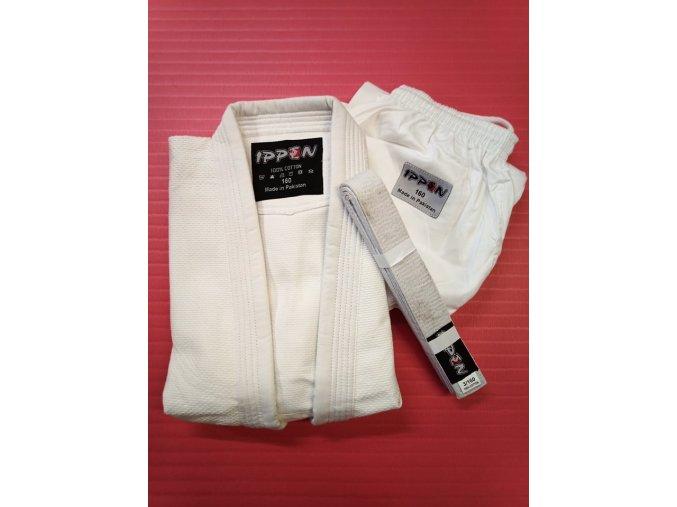 Ippon kimono judo (Barva Bílá, Velikost 160)