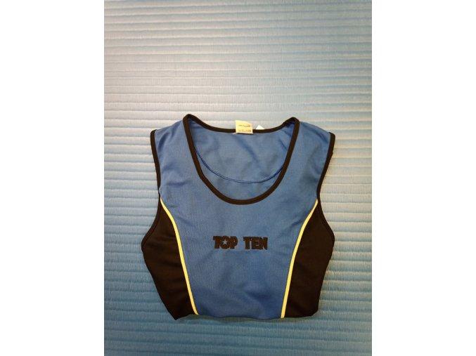 Boxerské tílko Top Ten Winner - modrá (Velikost L)