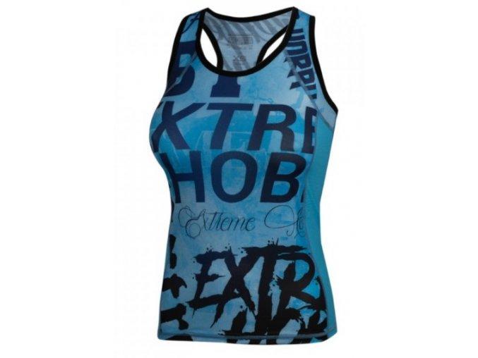 Rashguard Extreme Hobby dámský Tank Top Letters Blue