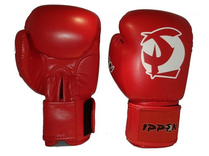 box rukavice ippon red