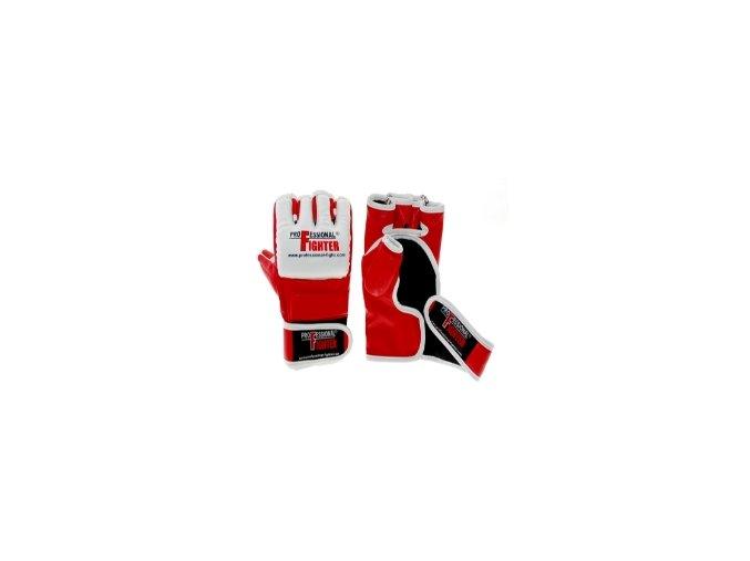 Professional Fighter MMA rukavice Profi Red (Velikost L, Barva ČERVENÁ)