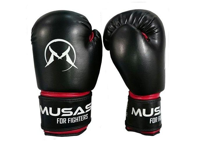 Boxerské rukavice Musashi Dětské 6oz