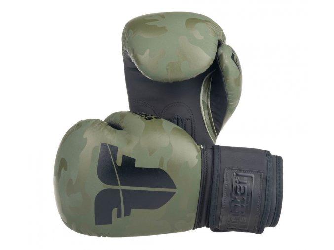 Boxerské rukavice Fighter SIAM khaki camo