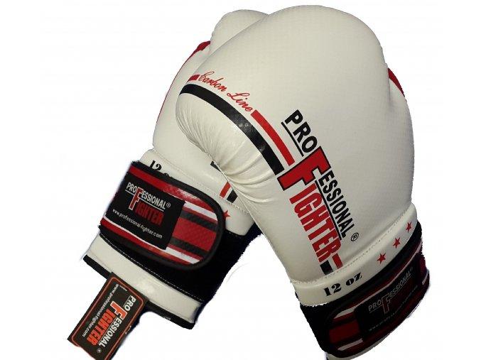 Boxerské rukavice Professional Fighter Carbon Line red