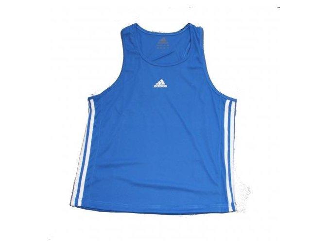 Boxerské tílko Adidas Aiba Blue