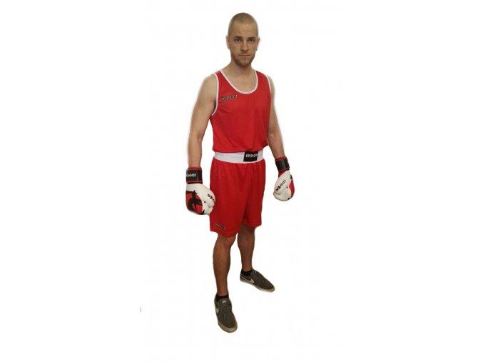 Boxerský set IPPON Red (Barva ČERVENÁ, Velikost S)