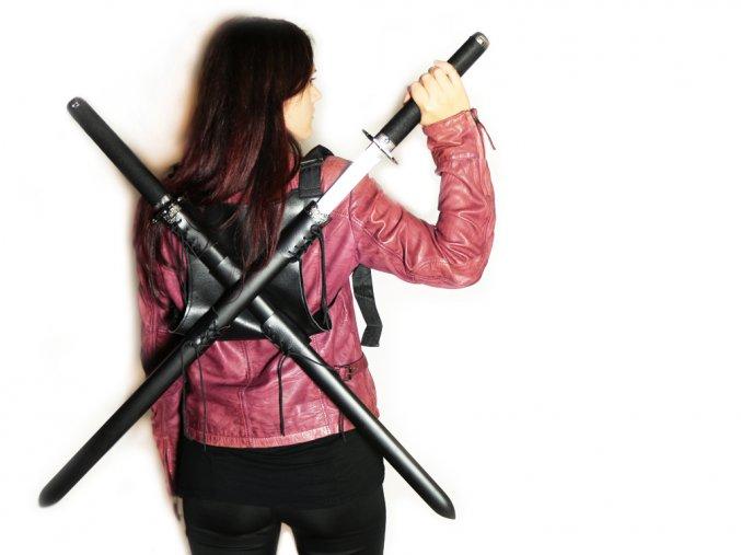 2991 2 katany double ninja 2 ks zaves