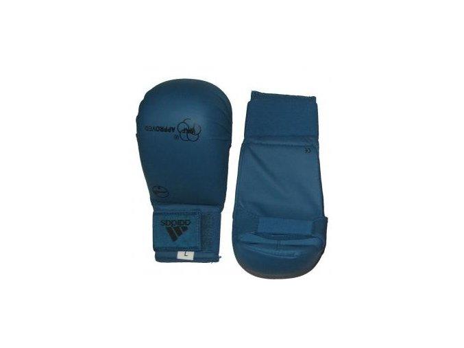Adidas Karate chrániče WKF - Tsuki Modrá (Barva Modrá, Velikost XL)