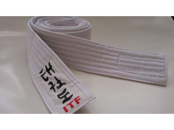 Pásek Ippon Taekwondo ITF obi (Velikost 200, Barva ŽLUTÁ)