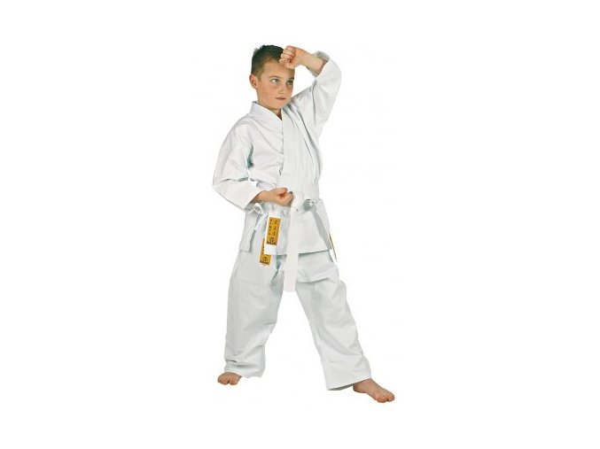 Hayashi kimono Karate Kinsa (Barva Bílá, Velikost 120)
