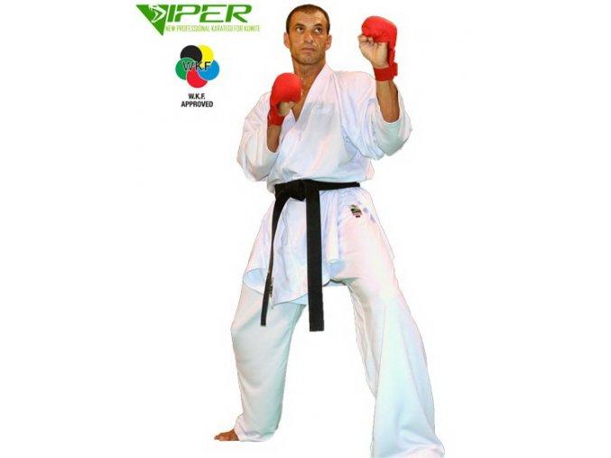 Kaze kimono Karate Viper (Barva Bílá, Velikost 130)
