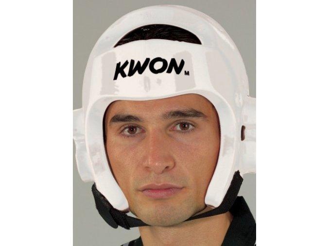Přilba TAEKWONDO KWON BÍLÁ (Barva Bílá, Velikost XL)