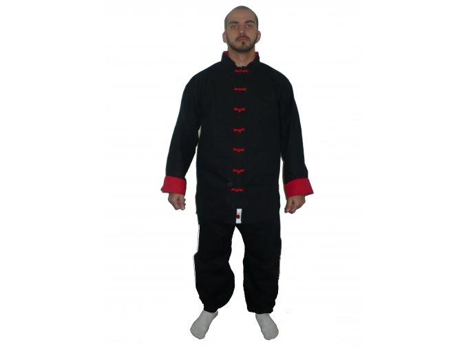 Ippon Uniforma Taichi ( nohavice úplet ) Red (Velikost 130, Barva ČERVENÁ)