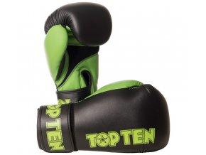 Boxerské rukavice Top Ten XLP zelená