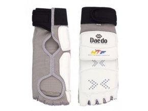 Elektronický chránič nohou Daedo (Barva Bílá, Velikost XL)