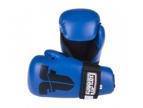 otevřené rukavice fighter strap blue