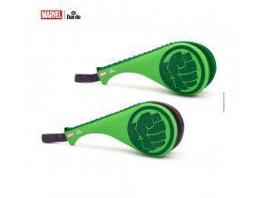 Lapa TKD DAEDO dvojitá dětská, junior Hulk