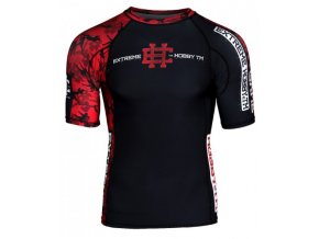 Rashguard Extreme hobby RED WARRIOR
