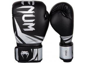 Boxerské rukavice Venum Challenge r3 black silver