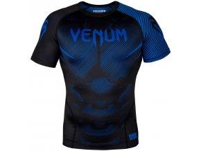 Rashguard Venum NoGi 2.0 Blue kr. rukáv