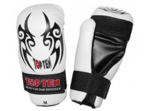 Otevřené rukavice Top Ten Tribal (Barva Bílá, Velikost M)
