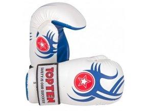 Otevřené rukavice Top Ten Individuals 2012 (Barva Bílá, Velikost S)
