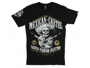 Triko YAKUZA Mexican Cartel  Premium - černá (Velikost L)