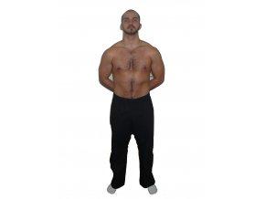 Ippon kalhoty Karate Profi Black (Velikost 120, Barva ČERNÁ)