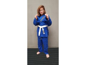 ippon kimono judo kids blue